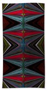 Patterned Abstract 2 Beach Towel