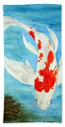 Paul's Koi Beach Towel