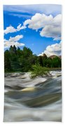 Payette River Beach Towel by Robert Bales