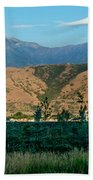 Payson Temple Mountains Beach Towel