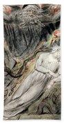 Pd.20-1950 Christs Troubled Sleep Beach Towel