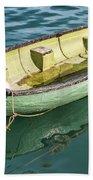 Pea-green Boat Beach Towel