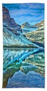 Peace At Bow Lake Beach Towel