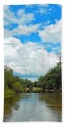 Peace River 4 Beach Towel