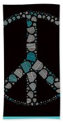 Peace Symbol Design - 87d Beach Towel by Variance Collections