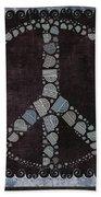 Peace Symbol Design - S79bt2 Beach Towel