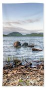 Peaceful Early Morning At Eagle Lake Beach Towel