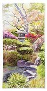 Peaceful Garden Beach Towel