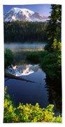 Peaceful Reflection Beach Towel