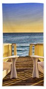 Peaceful Seclusion Beach Towel