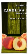 Peach Farm Beach Towel