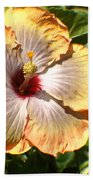 Peach Flower Beach Towel
