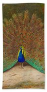 Peacock Butterfly Beach Towel
