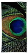 Peacock Eye Beach Towel