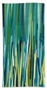 Peacock Spikes Beach Towel