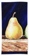 Pear Pear And A Pear Beach Towel