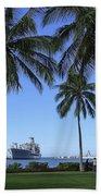 Pearl Harbor Hawaii Beach Towel