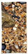 Pebbles And Sand Beach Towel