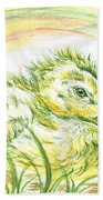 Pekin Duckling Beach Towel