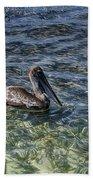 Pelican Floater Beach Towel