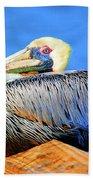 Pelican Rest Beach Towel