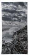Pemaquid Seas Beach Towel