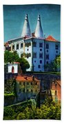 Pena National Palace - Sintra Beach Towel