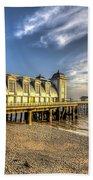 Penarth Pier Dawn 2 Beach Towel