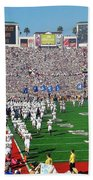 Penn State Rose Bowl Beach Towel by Benjamin Yeager