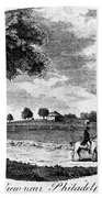 Pennsylvania Farm, 1795 Beach Towel