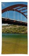 Pennybacker 360 Bridge, Austin, Texas Beach Towel