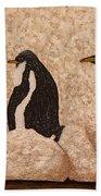 Penquin Family Beach Towel