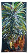 Perfect Pineapple Beach Towel by Eloise Schneider