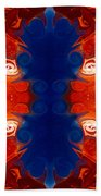 Perfectly Balanced Philosophies Abstract Pattern Art By Omaste Witkowski Beach Towel