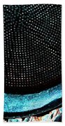Perforated I Beach Towel