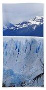 Perito Moreno Glacier Beach Towel