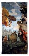 Perseus Rescuing Andromeda Beach Towel