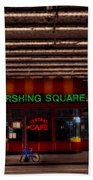 Pershing Square Cafe Beach Towel