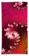 Persistent Flowers Beach Towel