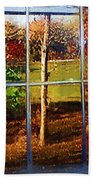Perspective On Fall  Beach Towel