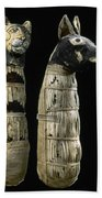 Pet Mummies, 1st Century Beach Towel