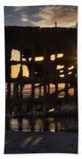 Peter Iredale Shipwreck Sunset Beach Sheet