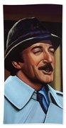 Peter Sellers As Inspector Clouseau  Beach Towel