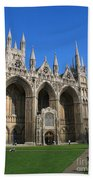 Peterborough Cathedral Beach Towel