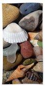 Petoskey Stones Lv Beach Towel
