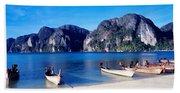 Phi Phi Islands Thailand Beach Towel