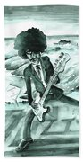 Phil Lynott In Howth Beach Towel