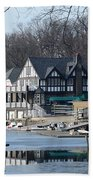 Philadelphia - Boat House Row Beach Towel