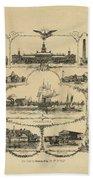 Philadelphia By James Fuller Queen Beach Towel