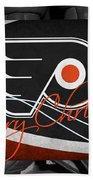 Philadelphia Flyers Christmas Beach Towel